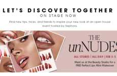 Beauty Store Makeover Sessions - Sephora's unNUDES Event Gives Shoppers a Perfect Lips Mini Makeover