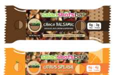 Salad-Based Nutrition Bars - 'Saladshotsbars' Make It Easy to Enjoy a Salad Snack on the Go