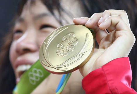 Recycled Technology Sport Medals - The Olympic Medals at Tokyo 2020 will be Made from Old Technology