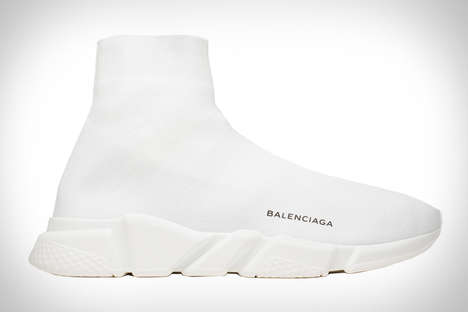 High-Fashion Sock Sneakers - The Balenciaga Speed Trainer is for Fashionably Athletic Individuals