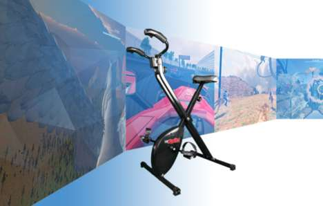 Mixed Reality Workout Bikes - VirZOOM Transforms Stationary Bike Workouts with VR Video Games