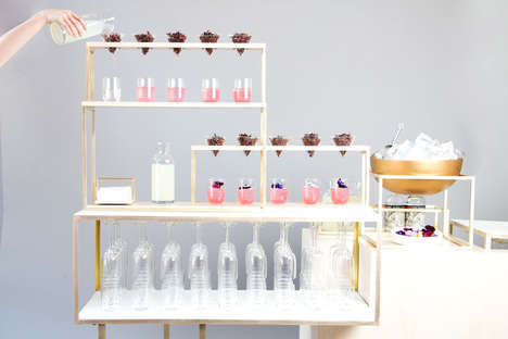 Elaborate Cocktail Apparatuses - 'TWIST by Pinch' is Pinch Food Design's New Cocktail Service