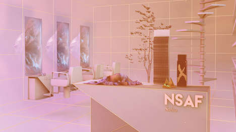 Cyberpunk Beauty Salons