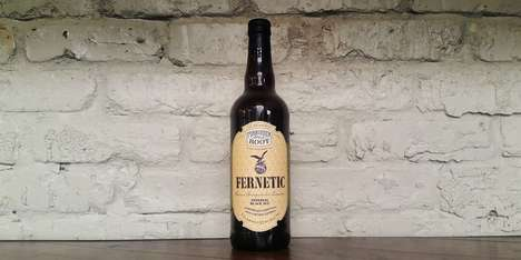 Spirited Botanical Beers - Forbidden Root's 'Fernetic' is Made with Fernet-Branca Liquor