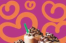 Valentine's Day Chocolate Drinks - Starbucks' Valentine's Day Collection is Rich and Decadent
