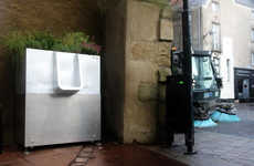 Plant-Fertilizing Urinals