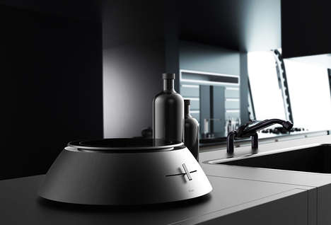 Wireless Induction Cooktops - The 'B'CHEF' Induction Hot Plate Allows for Movement During Cooking