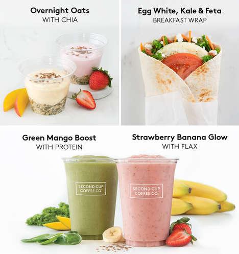 Healthy Green-Labelled Breakfast Menus
