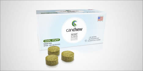 CBD Chewing Gums - 'CanChew' is Being Used in Clinical Trials for Patients with IBS