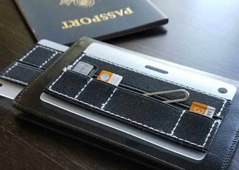 Organizing Device Card Wallets