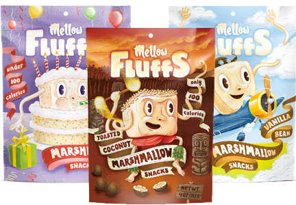 Calorie-Controlled Marshmallow Snacks