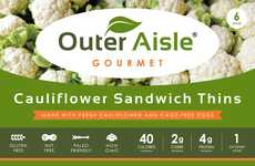 Gluten-Free Sandwich Thins - 'Cauliflower Sandwich Thins' Offer an Alternative Use for the Vegetable