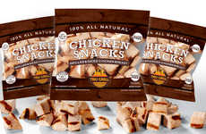 Cubed Chicken Snacks - Gourmet Boutique's Refrigerated 'Chicken Snacks' Can Be Eaten Hot or Cold