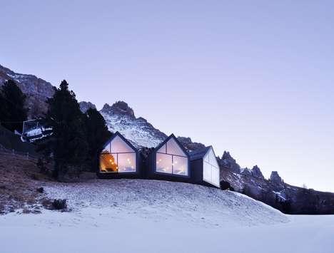Mountaintop Ski Huts