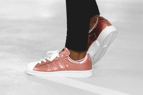 Reworked Metallic Sneakers