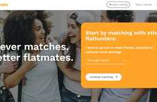 Matchmaking Roommate Platforms - 'Ideal Flatmate' Matches Renters Looking for Share a Loft in London