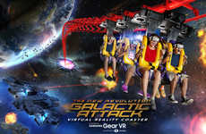 Mixed Reality Roller Coasters - 'The New Revolution Galaxy Attack' will Use Samsung Gear VR Headsets