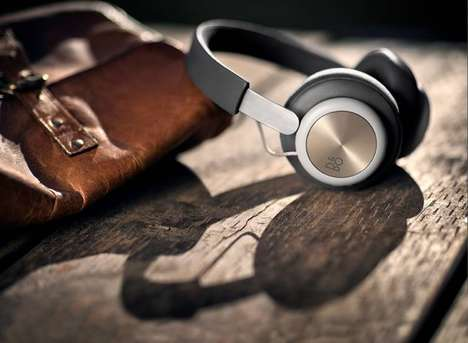 High-End Lambskin Headphones