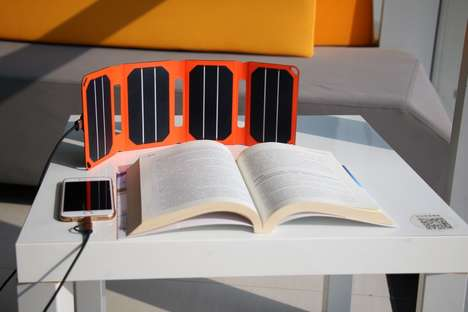 The 'PocketPower' Solar Device Charger is Ready for Use Anywhere