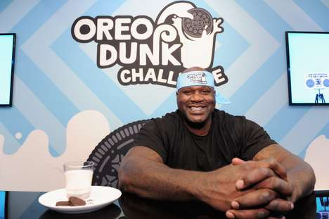 Cookie Dunking Challenges - The 'OREO Dunk Challenge' is Hosted by Three Big Celebrities
