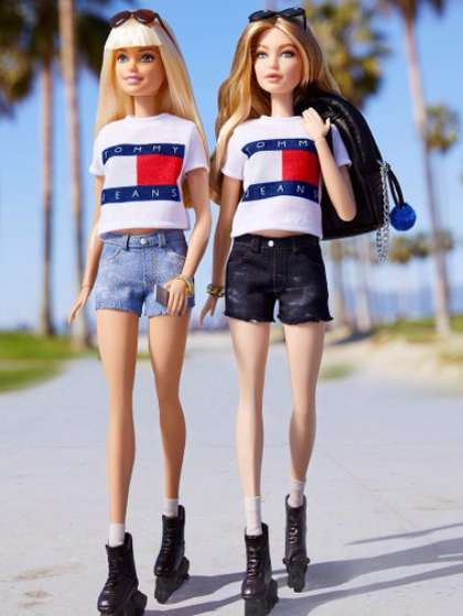 Millennial Model Barbies - The Newest Supermodel Barbie from Mattel is Styled After Gigi Hadid