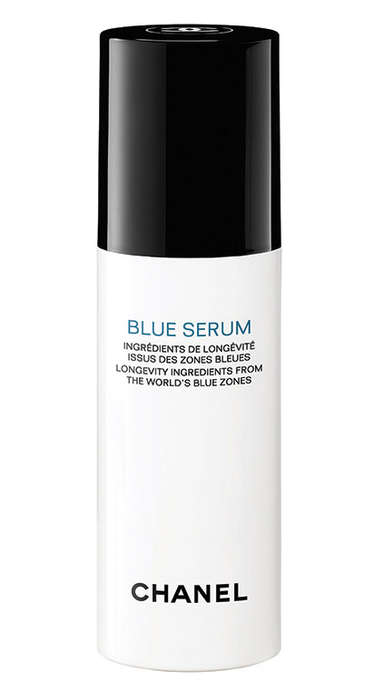 Blue Zone-Inspired Facial Serums - Chanel's Blue Serum is Made With Olives and Green Coffee