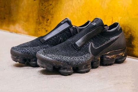 Grayscale Designer Sneakers
