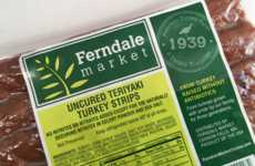 Uncured Turkey Snacks - Ferndale Market's Turkey Strips Offers a Healthy Alternative to Salty Jerky