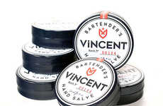 Moisturizing Bartender Cosmetics - The Vincent Bartender's Hand Salve Provides Natural Moisture