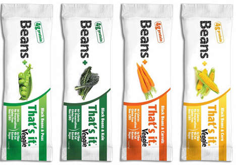 Vegetable Snack Bars - 'That's it.' Veggie Bars Contain Only Five Simple Ingredients