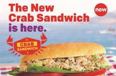 QSR Crab Salad Sandwiches - The McDonald's Crab Sandwich is Being Tested in San Francisco