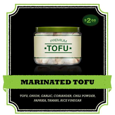 Marinated Tofu Snacks