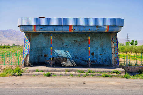 USSR Bus Stop Photography - Peter Ortner Captured 500 Bus Stops Around the Former Soviet Union