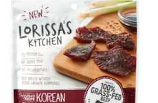 Natural Meat Strip Snacks - Lorissa's Kitchen Makes Clean Beef, Pork and Chicken Snacks