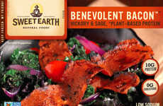 Cruelty-Free Bacon Alternatives - Sweet Earth Foods' 'Benevolent Bacon' is a Plant-Based Meat