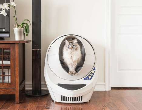 Smart Self-Cleaning Litter Boxes - The 'Litter-Robot III' Litter Box Cleans Itself After Every Use