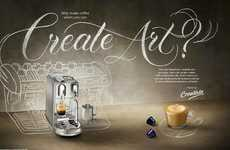 Latte Art Workshops - The Nespresso Creatista Studio Mimics an At-Home Barista Experience