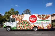 Mobile Pizzeria Delivery Trucks - The Zume Pizza Food Delivery Truck Makes Pizza While Driving