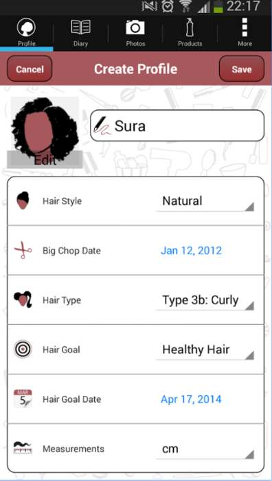Hair-Growth Tracking Apps