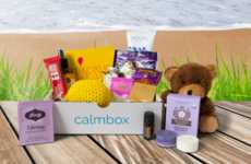 Therapeutic Subscription Boxes - The calmbox Subscription is Designed to Evoke Peace of Mind