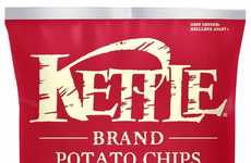 Cocktail-Flavored Kettle Chips - Kettle Brand Created a Classic Caesar Chip Flavor for Canadians