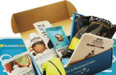 Marathon Runner Subscription Boxes - Runner Crate Provides Products and Foods That Optimize Health