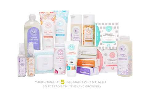 Natural Home Essentials Subscriptions - The Honest Essentials Bundle Provides Personal Care Items