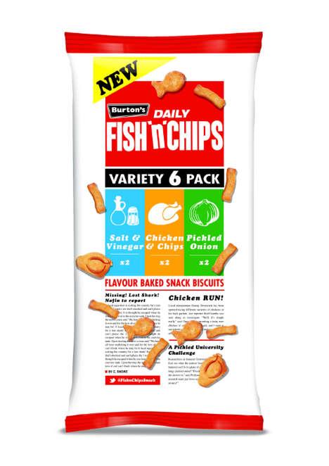 British Street Food-Inspired Crackers