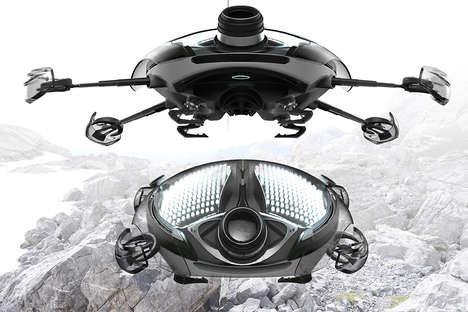 Nature Photography Drones - The 'Onyx' Natural Photography Drone Tracks Wildlife without Disturbance