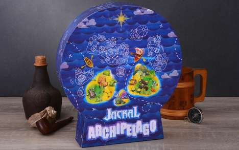 Pirate Treasure Hunt Games - The 'Jackal Archipelago' Strategic Board Game is Quick to Learn