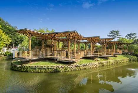 Architectural Bamboo Structures - Bamboo in Architecture is Both Flexible and Reduces Costs
