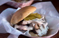 Premium Smoked Chicken Sandwiches - The Drift Smoked Chicken Sandwich Has Alabama White Sauce