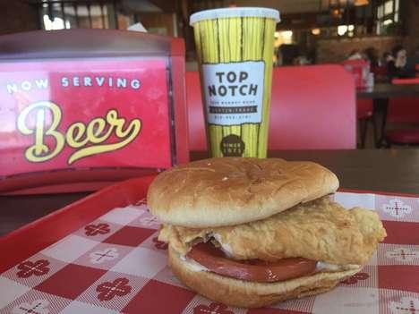 Nostalgic Burger Formulations