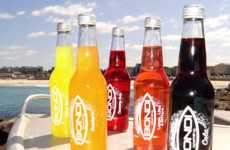 Energizing Carbonated Refreshments - Bondi Beverages Aims to Represent Its Australian Heritage